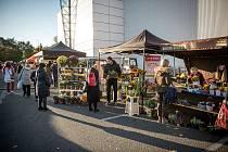 Farmářské trhy Futurum, 23. října 2021 v Ostravě.