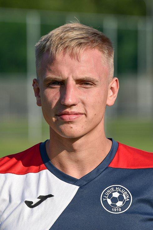 Fotbalový klub TJ Unie Hlubina, 7. srpna 2020 v Ostravě. Jaromír Frébort, obránce