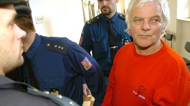Oldřich Martínek u ostravského krajského soudu
