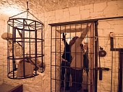 Úniková hra: šedesát minut ve středověkém žaláři. Nejprve je potřeba dostat se z uzamčených cel. Ilustrační foto.