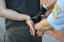 Zloděje v Mariánských horách dopadly ostravské strážnice pár minut po činu. Ilustrační foto.