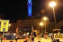 Příležitostné nasvícení radniční věže a doprovodný program