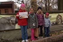 Zoo Ostrava má dalšího jubilejního návštěvníka. V pořadí letošním již čtyřistatisícím návštěvníkem ostravské zoo se v úterý stala Adélka Chmelová z Ostravy.
