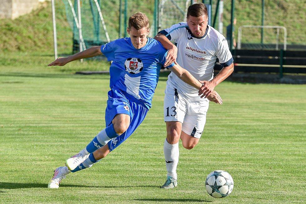 Fotbalový klub - Spolek SK Brušperk, 26. srpna 2020 v Brušperku.