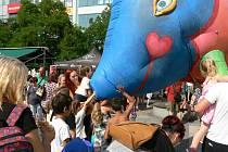 V sobotu 26. června 2021pokračoval druhým dnem v Ostravě Festival v ulicích.