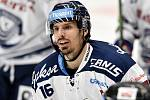 Utkání 51. kola hokejové extraligy: HC Vítkovice Ridera - HC Energie Karlovy Vary, 3. března 2020 v Ostravě. Zleva Tomáš Kubalík z Vítkovic.