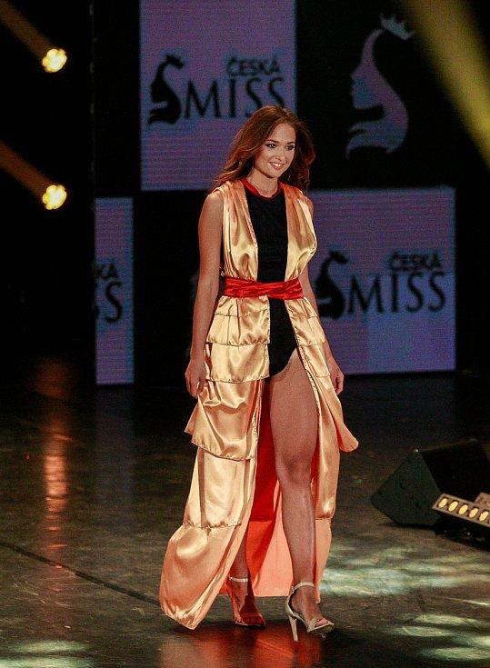 Vyhlášení české Miss 2018 v Gongu.Lea Šteflíčková