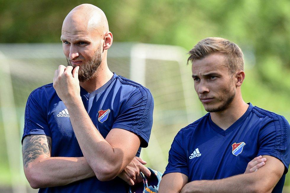 Příprava fotbalového klubu FC Baník Ostrava, 17. června 2019 v Radvanicích.