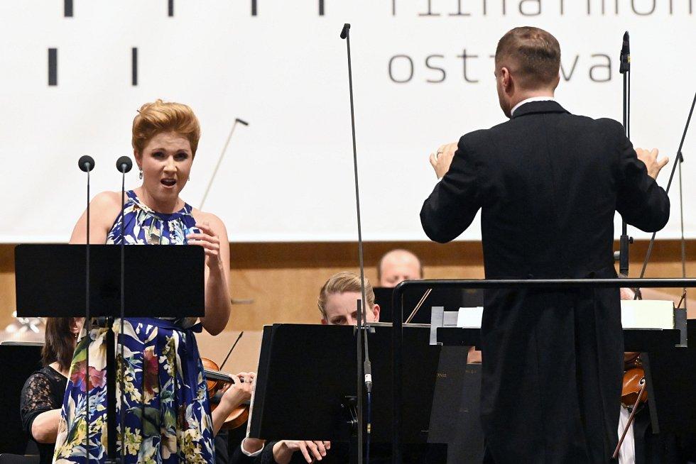 Z koncertu s Janáčkovou filharmonií Ostrava