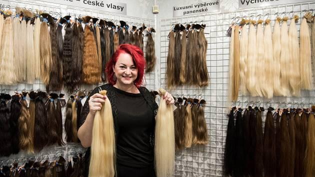 """Pavlína Vyklická a """"její"""" vlasy. Největší zájem je o ty blonďaté…"""