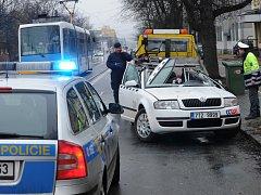 Vážná nehoda taxíku