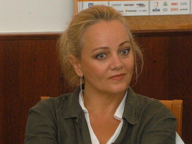 Sopranistka Eva Dřízgová-Jirušová.