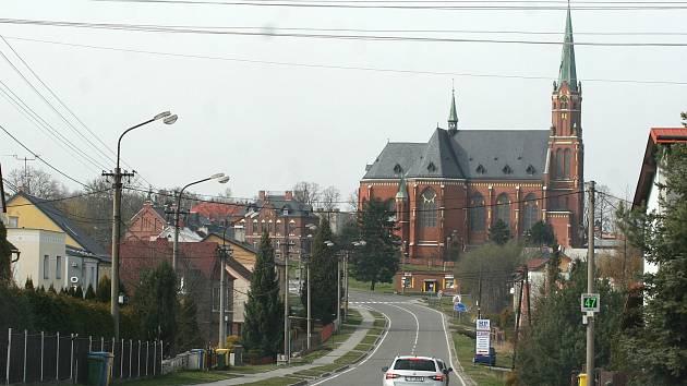 Kostel v Ludgeřovicích. Ilustrační foto.