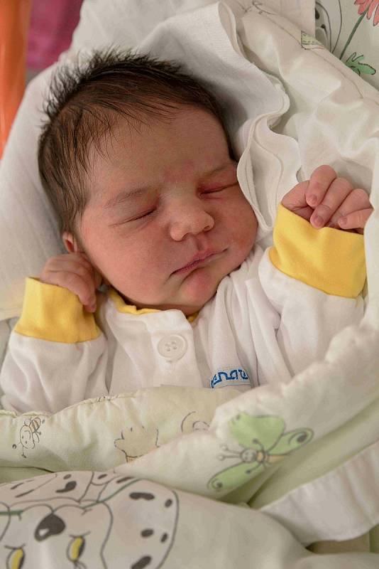 Zuzana Hoková, Karviná, narozena 28. srpna 2021 v Karviné, míra 50 cm, váha 3790 g. Foto: Marek Běhan