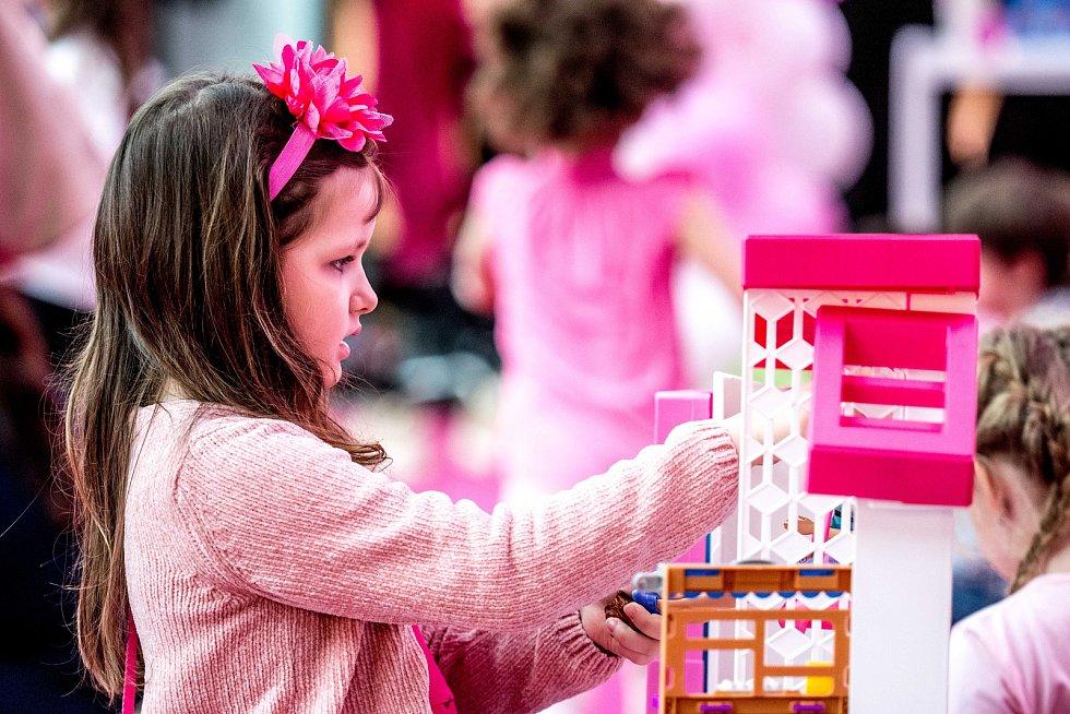 Oslava 60 let Barbie, obchodní centrum Nová Karolina, 9. března 2019 v Ostravě.