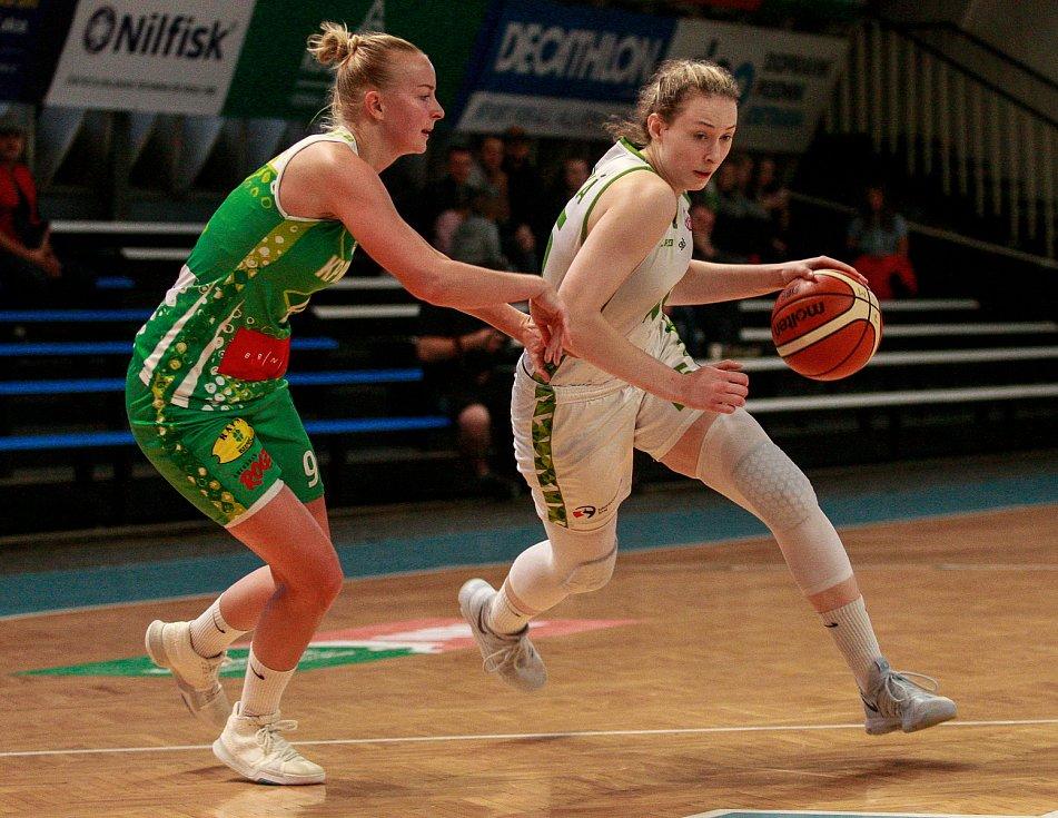 Basketbal žen: Ostrava - Brno