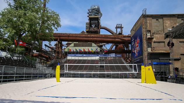 Turnaj  J&T Banka Ostrava Beach Open 2020 se pod vysokými pecemi v Dolních Vítkovicích v květnu hrát nebude. Organizátoři teď hledají nový termín.