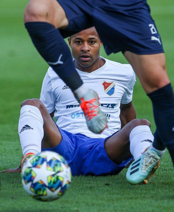 Utkaní 7. kola fotbalové FORTUNA:LIGY: FC Baník Ostrava - 1. FC Slovácko, 23. srpna 2019 v Ostravě. Na snímku Dyjan Carlos De Azevedo.