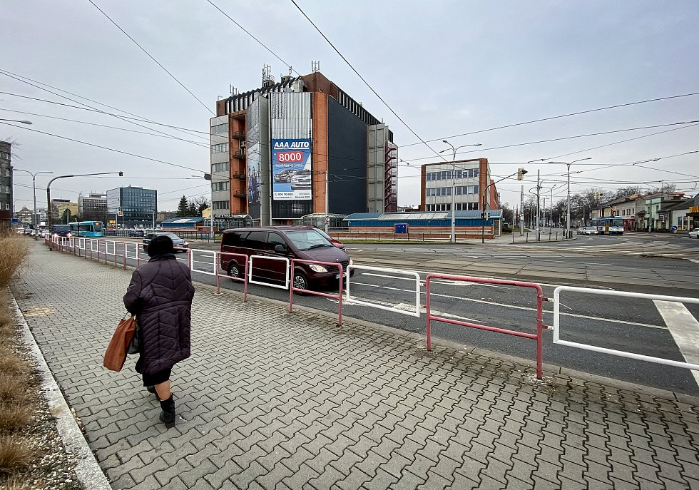 Městská část Mariánské Hory a Hulváky, 6. února 2020 v Ostravě.