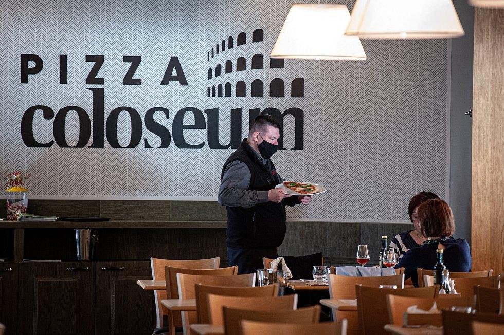 Pizza Coloseum - Masarykovo náměstí, 25. května 2020.