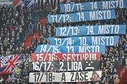 Zápas 17. kola první fotbalové ligy mezi FC Baník Ostrava a 1. FC Slovácko, 17. února 2018 v Ostravě.