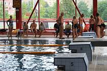 Padesát metrů volným stylem byla jedna z disciplín Mezinárodních sportovních her seniorů v Ostravě.