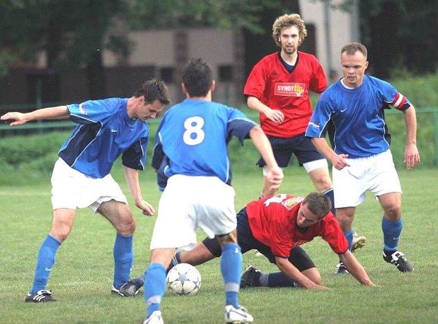 Ze zápasu fotbalistů Poruby