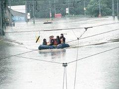 Ilustrační foto z povodně v Ostravě roku 1997