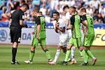 Nadstavba první fotbalové ligy, kvalifikační utkání o Evropskou ligu: FC Baník Ostrava - FK Mladá Boleslav, 1. června 2019 v Ostravě. Na snímku (střed) Milan Baroš.
