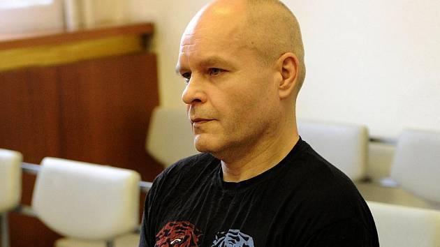 Obžalovaný Ladislav Krajčík u soudu.