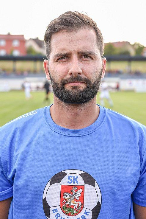 Fotbalový klub - Spolek SK Brušperk, 26. srpna 2020 v Brušperku. Jan Blahut (obránce)