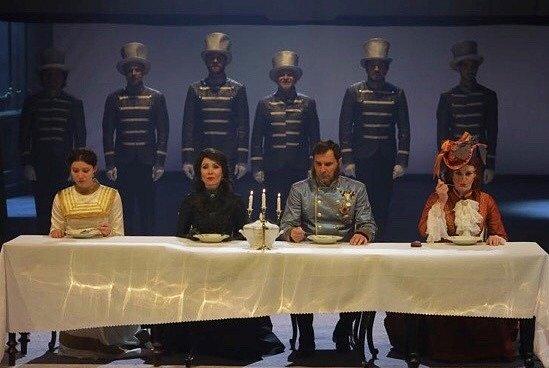 Z představení Sisi, které považuje Pavlína Kafková za jedno z osudových.