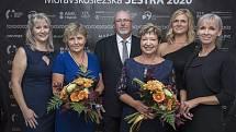 Snímky z předávání cen Moravskoslezská sestra roku 2020.