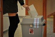 Volební místnost v centru Ostravy (č. 8028), 26. ledna 2018