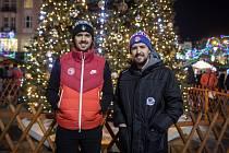 Bratři Matěj (vlevo) a Šimon Stránští se na společné Vánoce moc těšili.