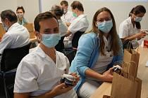 Světový den lékařů oslavili také v Nemocnici AGEL Ostrava-Vítkovice.