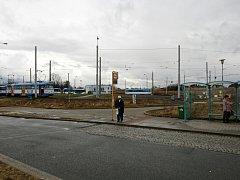Autobusový terminál by měl tady vyrůst už v srpnu.
