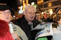 Ilustrační foto. Snímek z loňského zpívání koled na Masarykově náměstí v Ostravě.