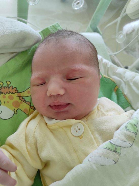 Emílie Muchová, Příbor, narozena 15. července 2021, míra 51 cm, váha 3620 g Foto: Jana Březinová