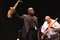Z vystoupení kapely saxofonisty Maceo Parkera