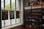 Výstava KomiX v Moravskoslezské vědecké knihovně v Ostravě.