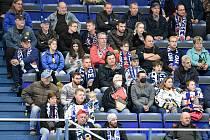 Fanoušci při utkání 15. kola hokejové extraligy: HC Vítkovice Ridera - Bílí Tygři Liberec.