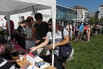 Na pokémonský sraz v Ostravě dorazily desítky lidí, na které mimo jiné čekaly různé soutěže a klání.