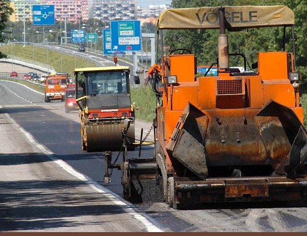 Ilustrační foto z opravy Rudné ulice v Ostravě