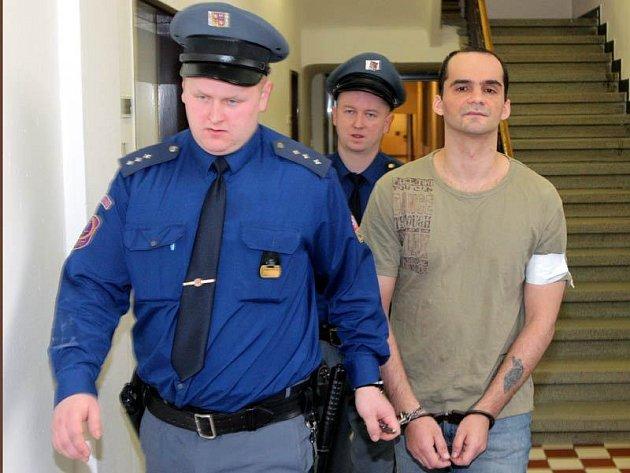 Pavel Stromp u ostravského krajského soudu