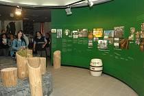 Návštěvnické centrum nošovického pivovaru.