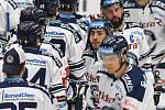 HC Vítkovice Ridera – HC Olomouc 1:2 v prodloužení, přípravný zápas v Ostravě, 10. září 2020. Domácí po závěrečném hvizdu.