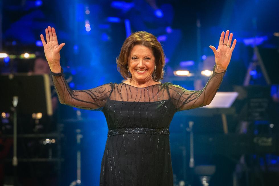 Marie Rottrová na předávání Cen Jantar.