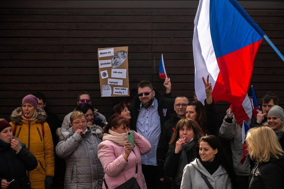 Procházka s Volným blokem, kterou pořádá Lubomír Volný (Poslanec Parlamentu České republiky), se uskutečnila 20. března 2021 v Opavě.