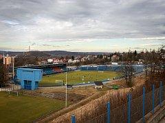 Stadion Bazaly v Ostravě, únor 2017. Ilustrační foto.